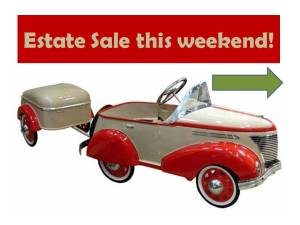 Estate Sale this weekend!