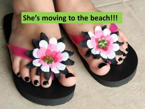 Moving to the beach