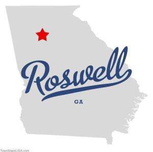 map_of_roswell_ga