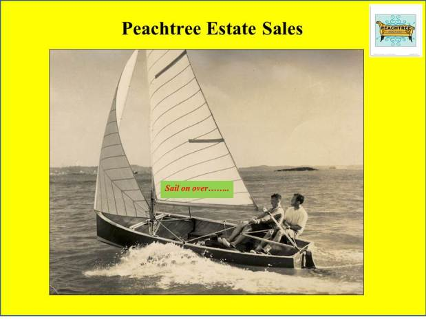 Peachtree Estate Sales goes to VILLA RICA! Woot! 3 days – joinus!