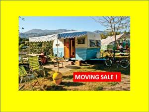 moving sale camper