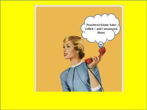 peachtree estate sales called