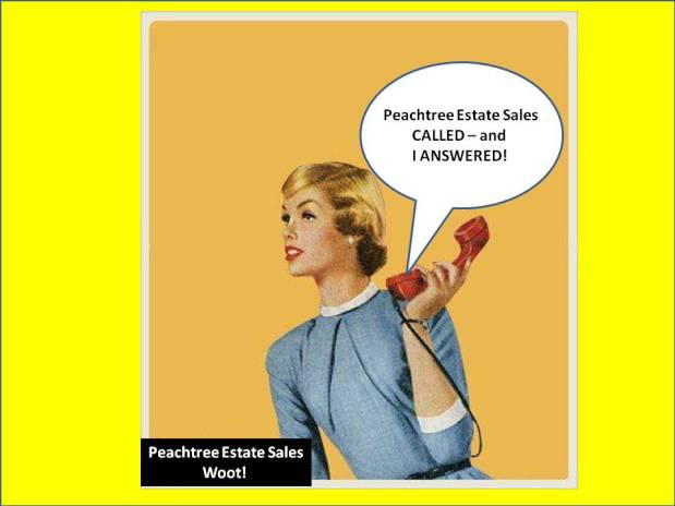 PEACHTREE ESTATE SALES is in REX for 3 days! Joinus!