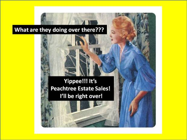 PEACHTREE ESTATE SALES is on Hembree Lane in Marietta! Join us!
