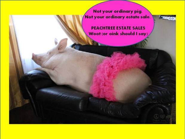 PEACHTREE ESTATE SALES is in SANDY SPRINGS – MOVING SALE! Huge!