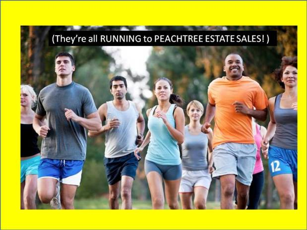 PEACHTREE ESTATE SALES is in KENNESAW for 3 days! Join us!