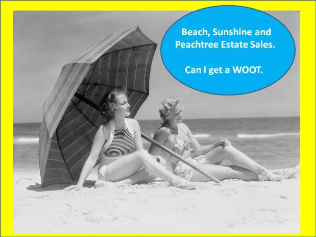 PEACHTREE ESTATE SALES is in NORCROSS – Don't miss this sale! Pre-Labor Day!