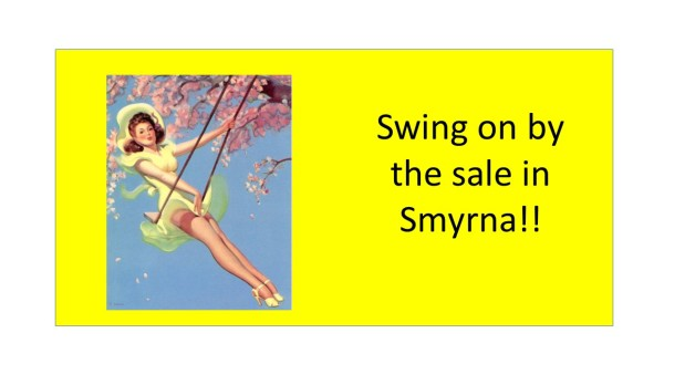 PEACHTREE ESTATE SALES is in SMYRNA for 3 DAYS!!!!!