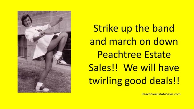 PEACHTREE ESTATE SALES is in VILLA RICA for 3 days!!