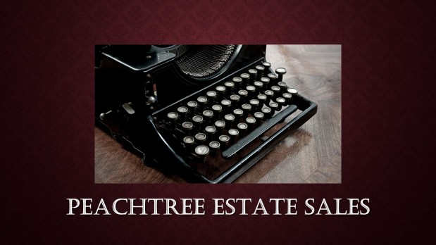 PEACHTREE ESTATE SALES is in COLLEGE PARK for 2 DaysONLY!!!
