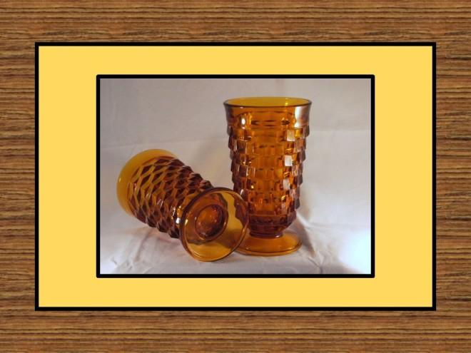 gold glassware