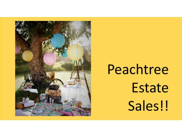 PEACHTREE ESTATE SALES is in ROSWELL for 2 Days!!