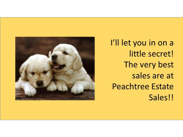 PEACHTREE ESTATE SALES is in STOCKBRIDGE for 3 DAYS!!!