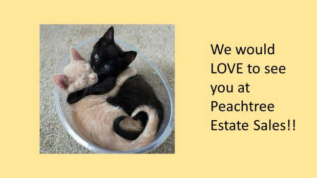 PEACHTREE ESTATE SALES is in ATLANTA   for 1 DAY ONLY!!!!!!