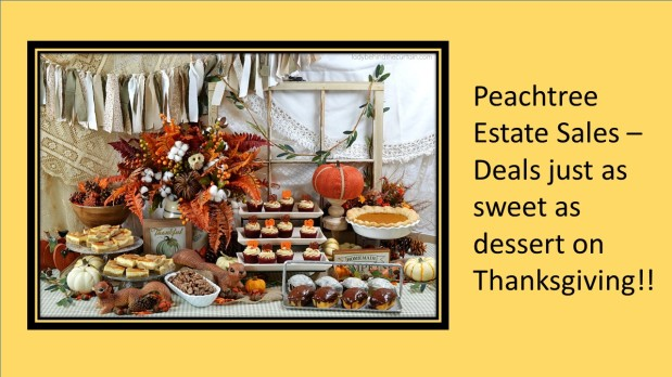 PEACHTREE ESTATE SALES is in DUNWOODY for 3 DAYS!!!!